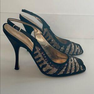 Dolce & Gabbana Sequin Heels